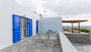 Summer House in Myconos, Prázdninové domy  Glastros - big - 12