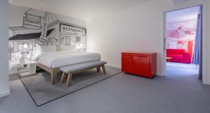 Apartament typu Studio Suite z oddzielną sypialnią