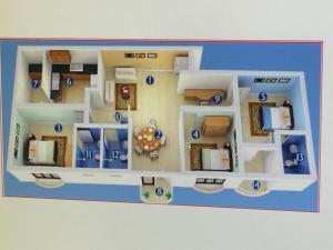 Atlantic Airport Apartments, Apartmány  Nedumbassery - big - 20