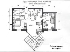 Ankerplatz Binz, Appartamenti  Binz - big - 12