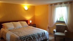 Chez Annie, Venkovské domy  Saint-Avit-Rivière - big - 14