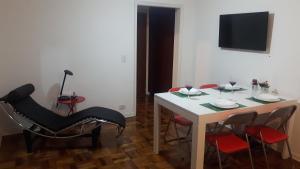 Balkony 92 - 4 Bedroom Apartment, Apartmány  Sao Paulo - big - 19