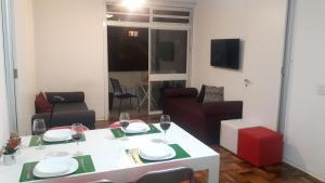 Balkony 92 - 4 Bedroom Apartment, Apartmány  Sao Paulo - big - 31