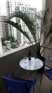 Balkony 92 - 4 Bedroom Apartment, Apartmány  Sao Paulo - big - 59