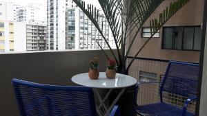 Balkony 92 - 4 Bedroom Apartment, Apartmány  Sao Paulo - big - 60