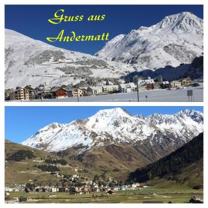 Privatzimmer / bed & breakfast - Accommodation - Andermatt