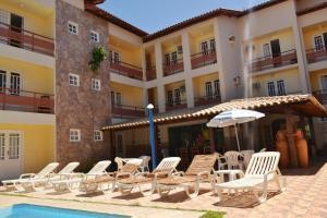 Hotel Brisa dos Abrolhos, Hotel  Alcobaça - big - 12