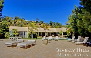 1100 - Beverly Hills Modern Villa, Villen  Los Angeles - big - 9