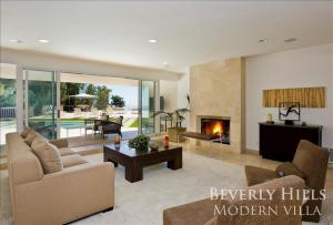 1100 - Beverly Hills Modern Villa, Vily  Los Angeles - big - 6