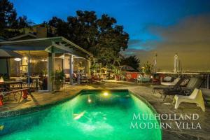 1104 - Mulholland Modern Villa, Villák  Los Angeles - big - 1