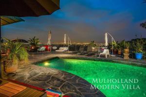 1104 - Mulholland Modern Villa, Villák  Los Angeles - big - 20