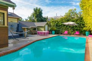 1034 - Silver Lake Vibrant Villa, Vily  Los Angeles - big - 5