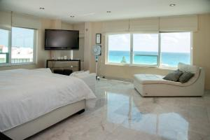 Brisas Penthouses on Perfect Beach, Appartamenti  Cancún - big - 49