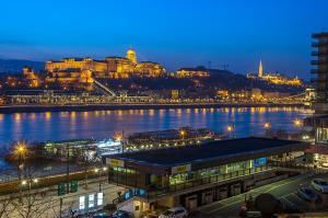 Danube Pest-side Apartment, Apartmanok  Budapest - big - 37