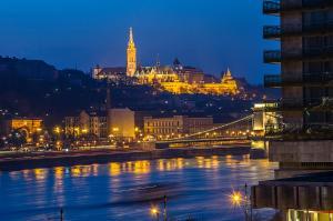 Danube Pest-side Apartment, Apartmanok  Budapest - big - 36