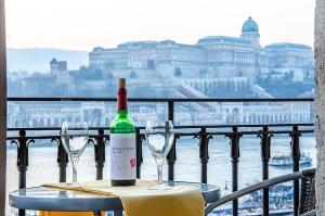 Danube Pest-side Apartment, Apartmanok  Budapest - big - 32