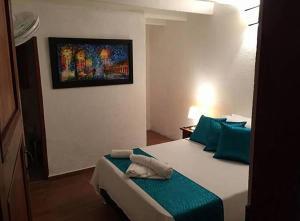 Santa María de la Rueda, Отели типа «постель и завтрак»  Barichara - big - 20