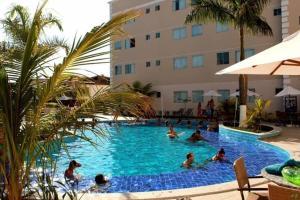 Apartamento Encontro das Águas Thermas, Apartmanok  Caldas Novas - big - 17