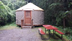Pacific City Camping Resort Yurt 11, Üdülőparkok  Cloverdale - big - 1