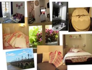 Appartement Duplex Rue du Soleil, Ferienwohnungen  Bordeaux - big - 33