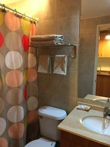 Tucapel Jimenez, Apartments  Santiago - big - 7