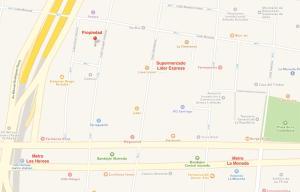 Tucapel Jimenez, Apartments  Santiago - big - 3
