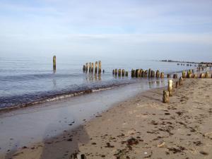 Ferienwohnung Strandläufer, Apartmanok  Börgerende-Rethwisch - big - 11