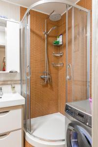Lux Apartment in Khamovniki, Ferienwohnungen  Moskau - big - 4