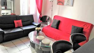 Appartement centre Jaures, Apartmány  Cannes - big - 8