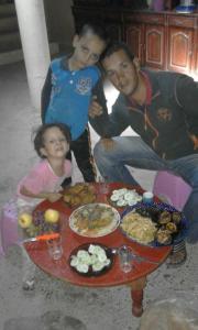 Chez Famille Berber, Проживание в семье  Мерзуга - big - 6