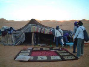 Chez Famille Berber, Проживание в семье  Мерзуга - big - 8