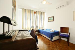 Elegant 3 bedrooms apt in the heart of Copacabana, Ferienwohnungen  Rio de Janeiro - big - 22