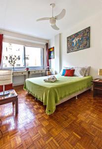 Elegant 3 bedrooms apt in the heart of Copacabana, Ferienwohnungen  Rio de Janeiro - big - 15
