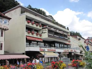 Hotel Harzer am Kurpark, Penziony  Bad Herrenalb - big - 19