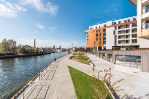 Blue Mandarin Riverside, Apartmány  Gdaňsk - big - 8