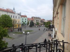 Apartments on Myru square