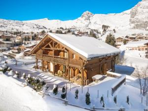 Chalet L'Ours Blanc, Horské chaty  Le Grand-Bornand - big - 4
