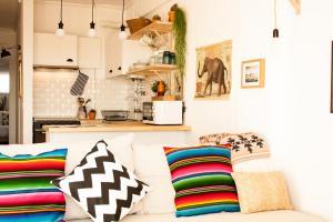 Casa Azul, Апартаменты  Назаре - big - 55