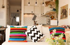 Casa Azul, Апартаменты  Назаре - big - 62