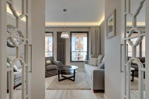 Blue Mandarin Riverside, Apartmány  Gdaňsk - big - 32