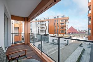 Blue Mandarin Riverside, Apartmány  Gdaňsk - big - 46