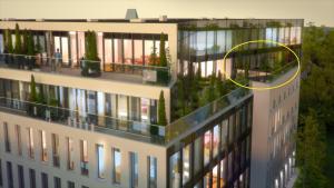 Apartment Kreutzwaldi Penthouse Tallinn Estonia