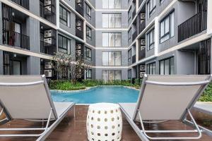 Urban Attitude, Apartments  Pattaya Central - big - 14
