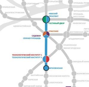 Апартаменты на Московском проспекте 73 Блок А, Апартаменты  Санкт-Петербург - big - 23