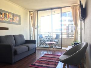 Departamento Providencia, Apartmanok  Santiago - big - 1