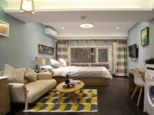 Beijing UOKOHOME + International Hotel Apartment, Ferienwohnungen  Peking - big - 4