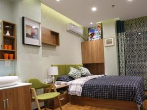Beijing UOKOHOME + International Hotel Apartment, Apartmány  Peking - big - 13