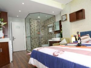 Beijing UOKOHOME + International Hotel Apartment, Apartmanok  Peking - big - 14
