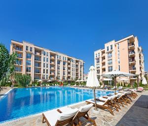 Sun & Sea Apartments, Apartments  Sunny Beach - big - 139