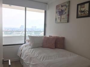 Apartamento Parque Arauco Kennedy, Апартаменты  Сантьяго - big - 15